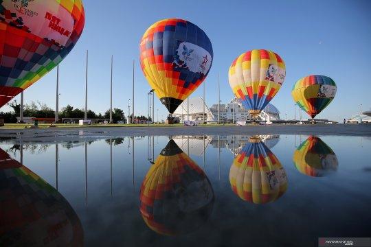 Festival balon udara di Sochi, Rusia