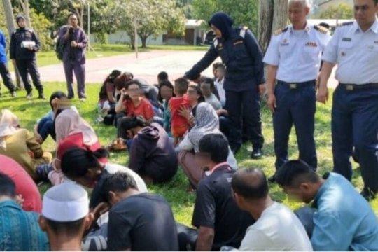 74 WNI ilegal ditahan APMM Malaysia