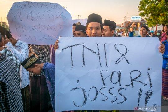 Masyarakat berikan apresiasi kepada TNI dan Polri