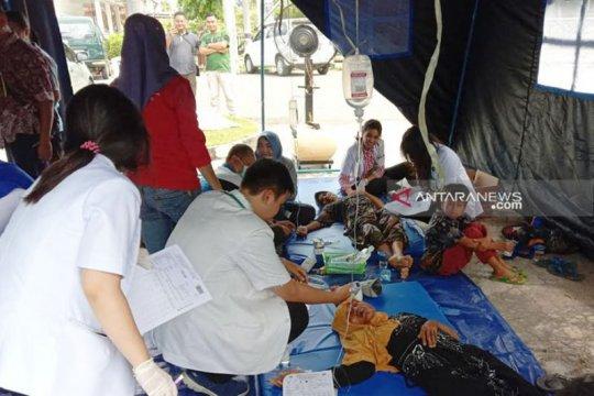 Korban keracunan makanan di Kapuas capai 254 orang