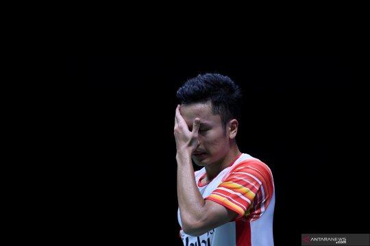 Kesalahan sendiri jadi penyebab kekalahan Ginting di final