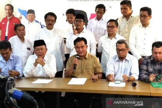 Yusril sambut baik Prabowo-Sandiaga daftarkan gugatan ke MK