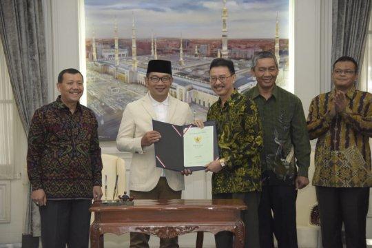 Pemprov Jabar hibahkan aset kepada tiga kementerian