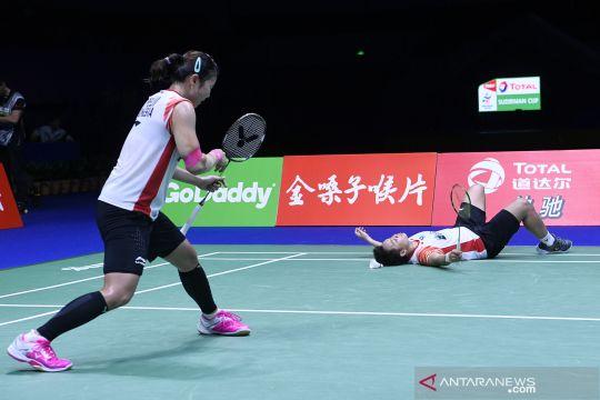 Piala Sudirman: Indonesia gagal melaju ke final setelah dikalahkan Jepang