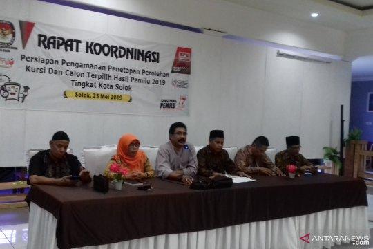 Penetapan calon terpilih DPRD Kabupaten Solok ditunda