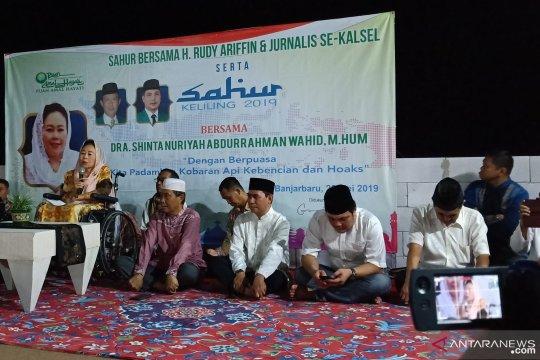 Sinta Nuriyah Wahid: Puasa momentum padamkan api kebencian
