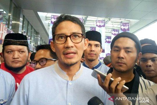 Komentar Sandiaga soal penangkapan anggota BPN