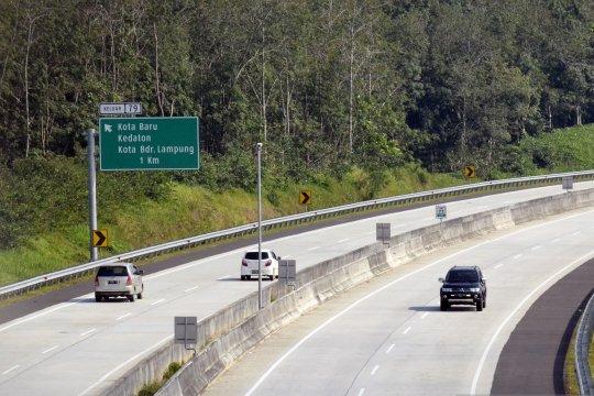 Polantas berlakukan satu arah tol Palembang-Lampung