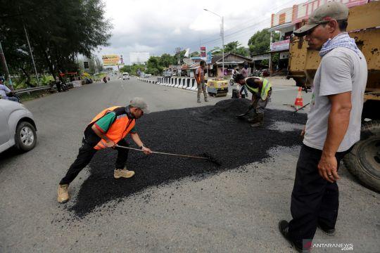 Perbaikan jalur mudik ujung Sumatera