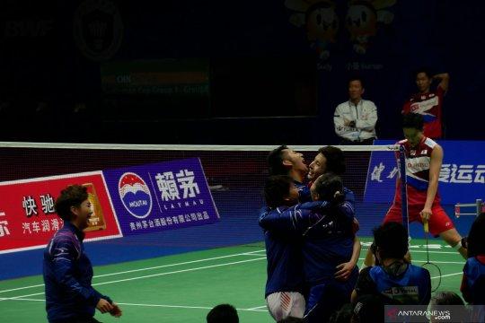 Taklukan Jepang, China boyong Piala Sudirman kesebelas kalinya