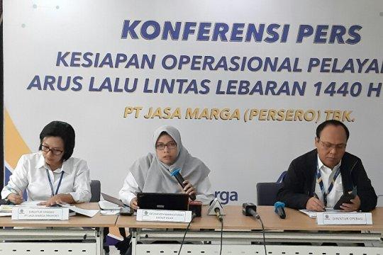 Catatan Jasa Marga selama rekayasa lalu lintas angkutan Lebaran 2019