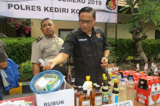 Polresta Kediri ungkap 51 kasus selama dua pekan