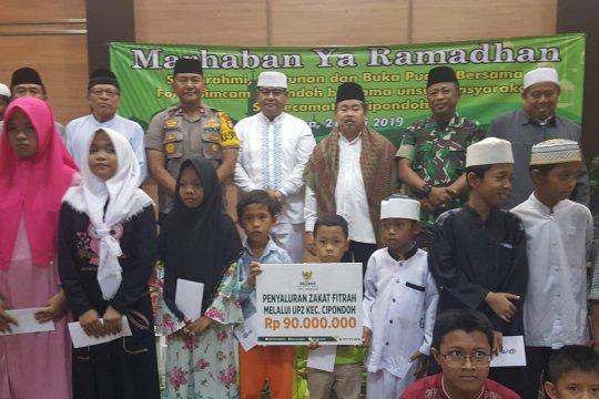 Baznas Kota Tangerang salurkan zakat Rp1,3 miliar tunai dan sembako