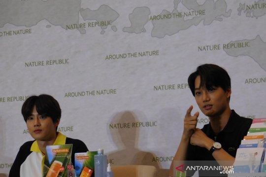 Hadapi cuaca panas, EXO rekomendasikan ini untuk penggemar Indonesia