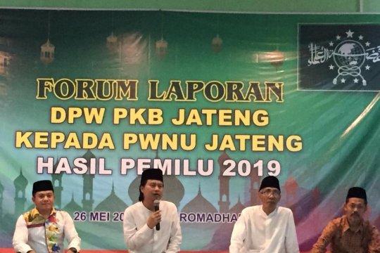 PKB Jateng laporkan hasil pemilu ke PWNU