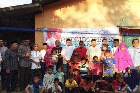 PDAM Makassar kunjungi panti asuhan melalui safari Ramadhan