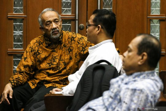 Vonis empat tahun bagi tiga anggota DPRD Sumut