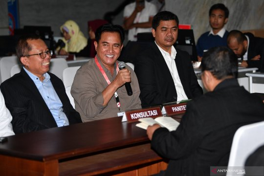 Kuasa hukum Jokowi-Ma'ruf sikapi perubahan permohonan Prabowo-Sandi