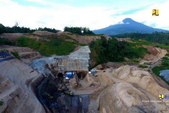 Dua bendungan berkapasitas 39,47 juta meter kubik dibangun di Sulut