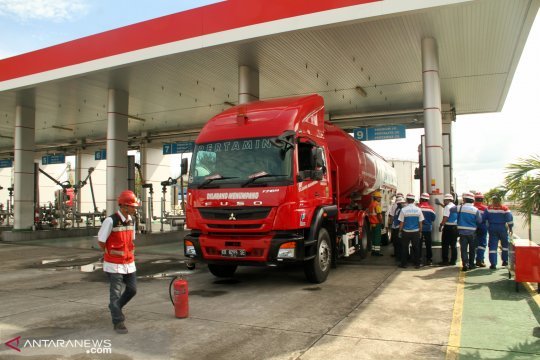 Jelang Lebaran Pertamina tambah pasokan BBM untuk Kalimantan