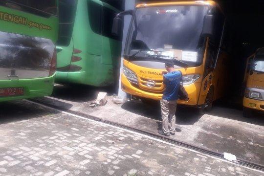 Puluhan bus layani pemudik disiapkan Perkimhub Bangka Tengah