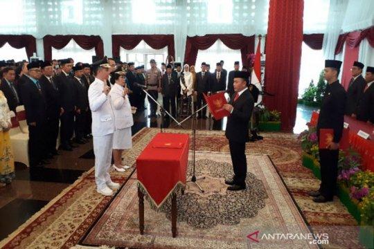 Gubernur Kalteng lantik Bupati Gunung Mas