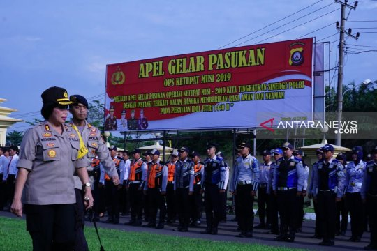 Polres OKU terjunkan 727 personel mudik lebaran