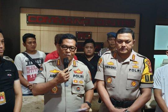 Hina presiden, WNI naturalisasi ditangkap Polres Jakarta Barat