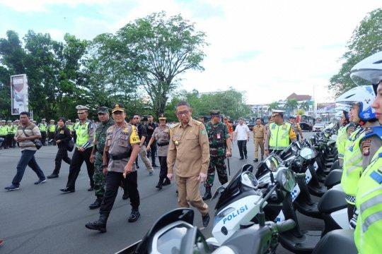 Kapolda Kalbar bersama Pangdam Tanjungpura pimpin Operasi Ketupat