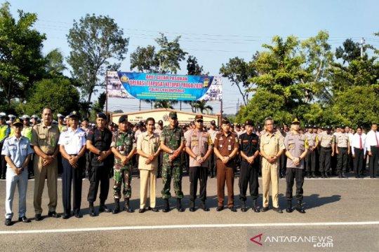 Polres Kulon Progo terjunkan 716 personel gabungan pengamanan Lebaran