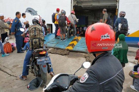 Kapal DLU sudah angkut 6.781 penumpang di Pelabuhan Sampit