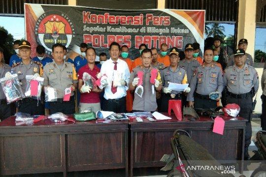 Polres Batang ungkap tujuh kasus narkoba