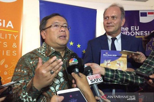 """Menteri PPN: Isu sawit tidak dibahas dalam """"Blue Book"""" UE-Indonesia"""