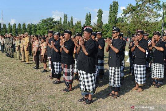 572 polisi di Denpasar jaga pelaksanaan Hari Raya Nyepi
