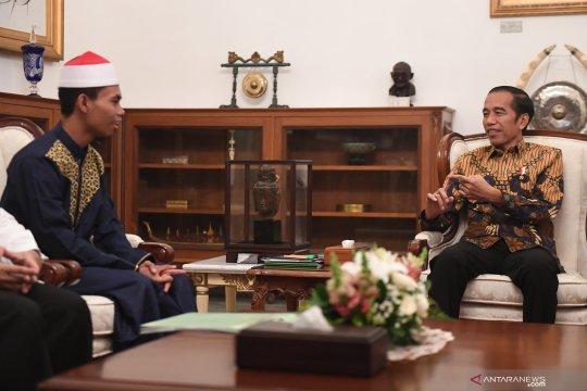 Presiden minta juara MTQ Internasional tetap semangat