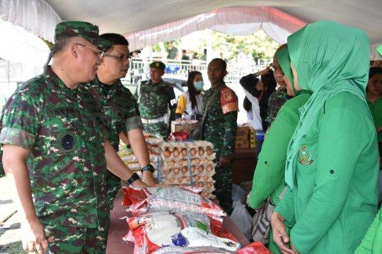 Kodam XIII Merdeka gelar bazar murah bantu masyarakat