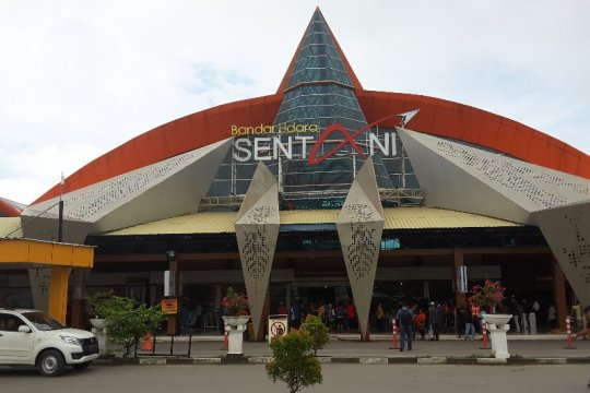 Di Bandara Sentani, penumpang mudik alami penurunan
