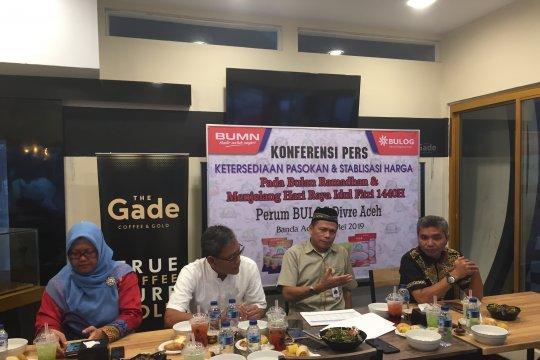 Bulog Aceh siap layani permintaan paket pasar murah hingga H-1 Lebaran