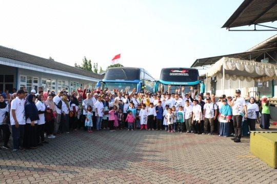 BGR Logistics berangkatkan mudik bareng gratis dari Jakarta