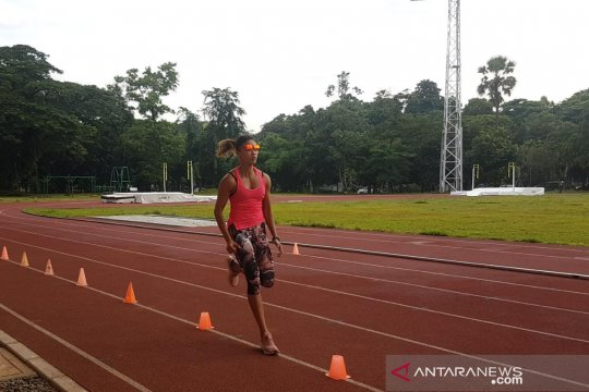 Meski cedera, Emilia Nova tetap targetkan emas SEA Games