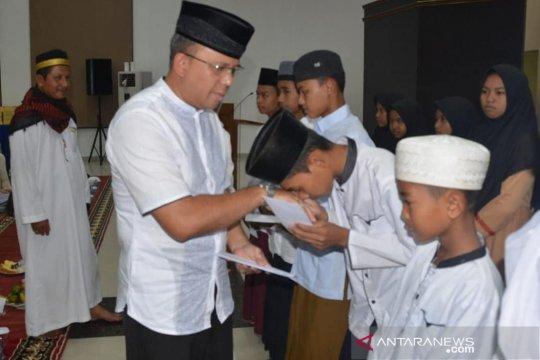 Komandan Lanud Supadio buka puasa bersama anak yatim