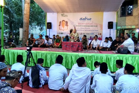 Sinta Nuriyah ajak masyarakat jaga persatuan dan perangi hoaks
