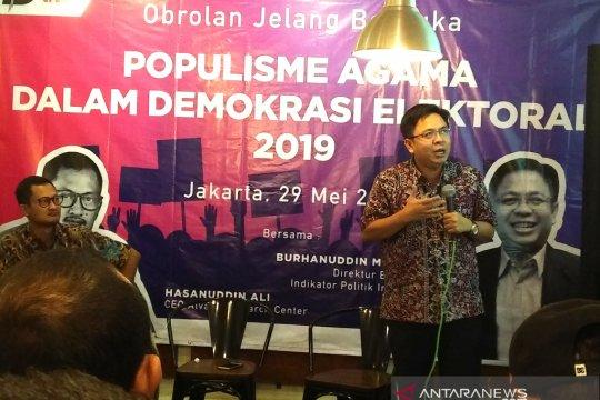 Hasan: kemenangan Jokowi-Ma'ruf dari dukungan mayoritas pemilih NU