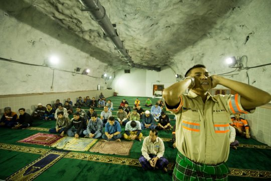 Begini kegiatan masjid di perut bumi Freeport Papua selama Ramadhan