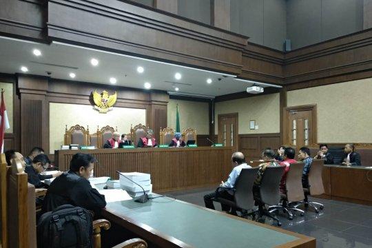 Empat anggota DPRD Kalteng dituntut 6 dan 7 tahun penjara