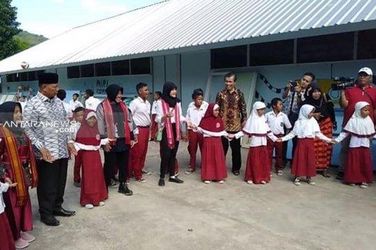 Cara Wali Kota Risma bangun sekolah tahan gempa di Lombok Timur
