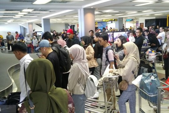 Tiket pesawat mahal, pemudik di Bandara Minangkabau turun 27,1 persen