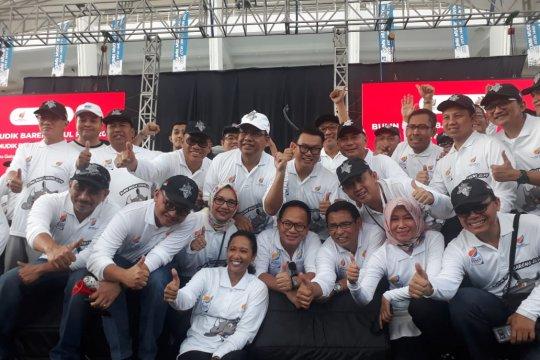Bersama Menteri BUMN, Jamkrindo lepas Mudik Bareng di GBK