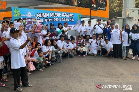 Waskita berangkatkan gratis 2.300 pemudik Lebaran 2019