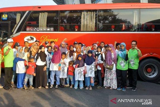 MUDIK BUMN: Indonesia Re berangkatkan 500 pemudik